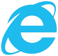 Логотип браузера Internet Explorer