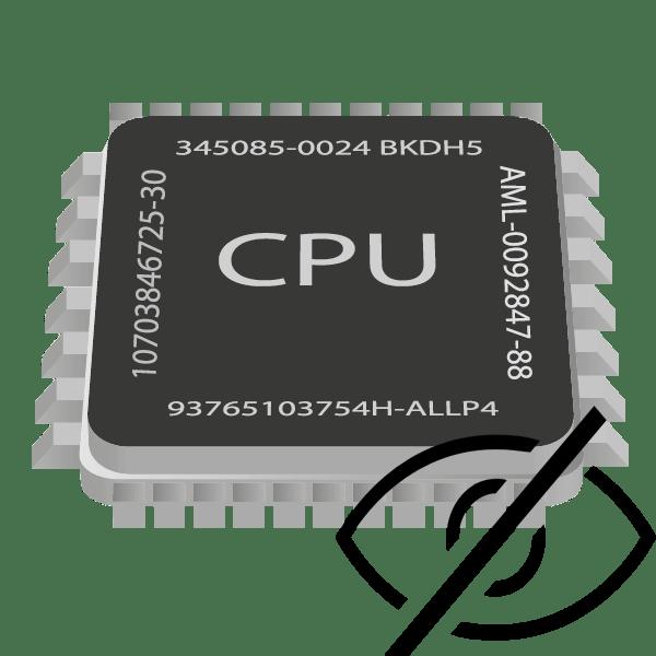 Почему CPU Control не видит процессы