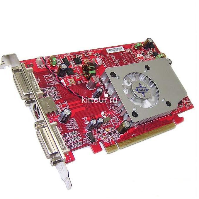 Подбираем драйвера для Radeon x1300/x1550 Series