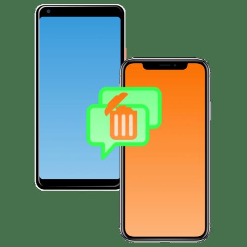 Удаление SMS на iPhone и смартфоне с Android