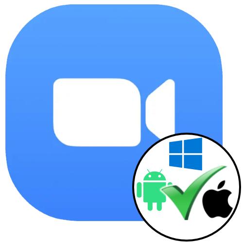 Установка приложения Zoom в среде Windows, Android и iOS