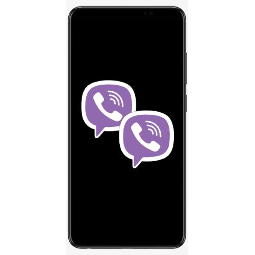 Установка второго экземпляра Viber на смартфоне