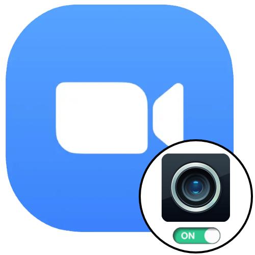 Включение камеры в Zoom для Windows, Android и iOS